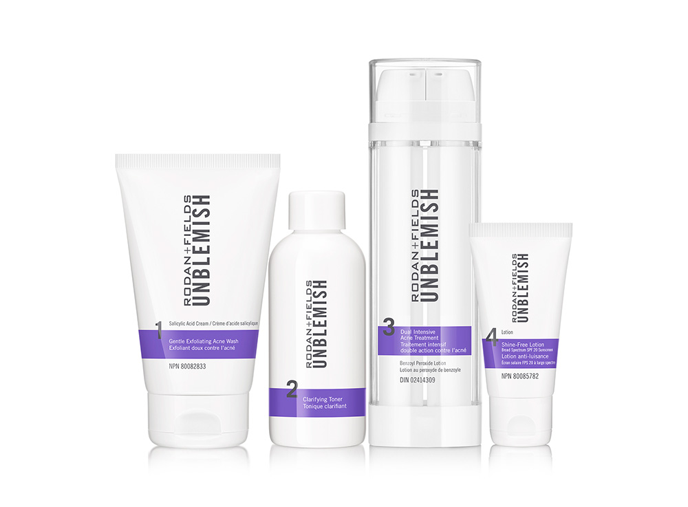 Unblemish adult acne treatment from Rodan + Fields