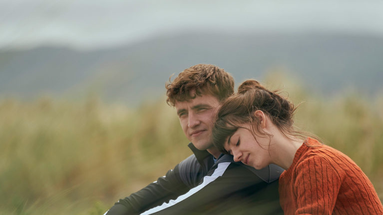 normal people canada: Paul Mescal and Daisy Edgar-Jones in a still from