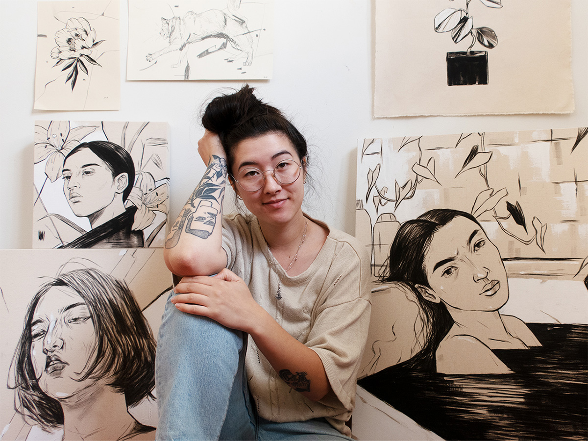 affordable wall art: katie so