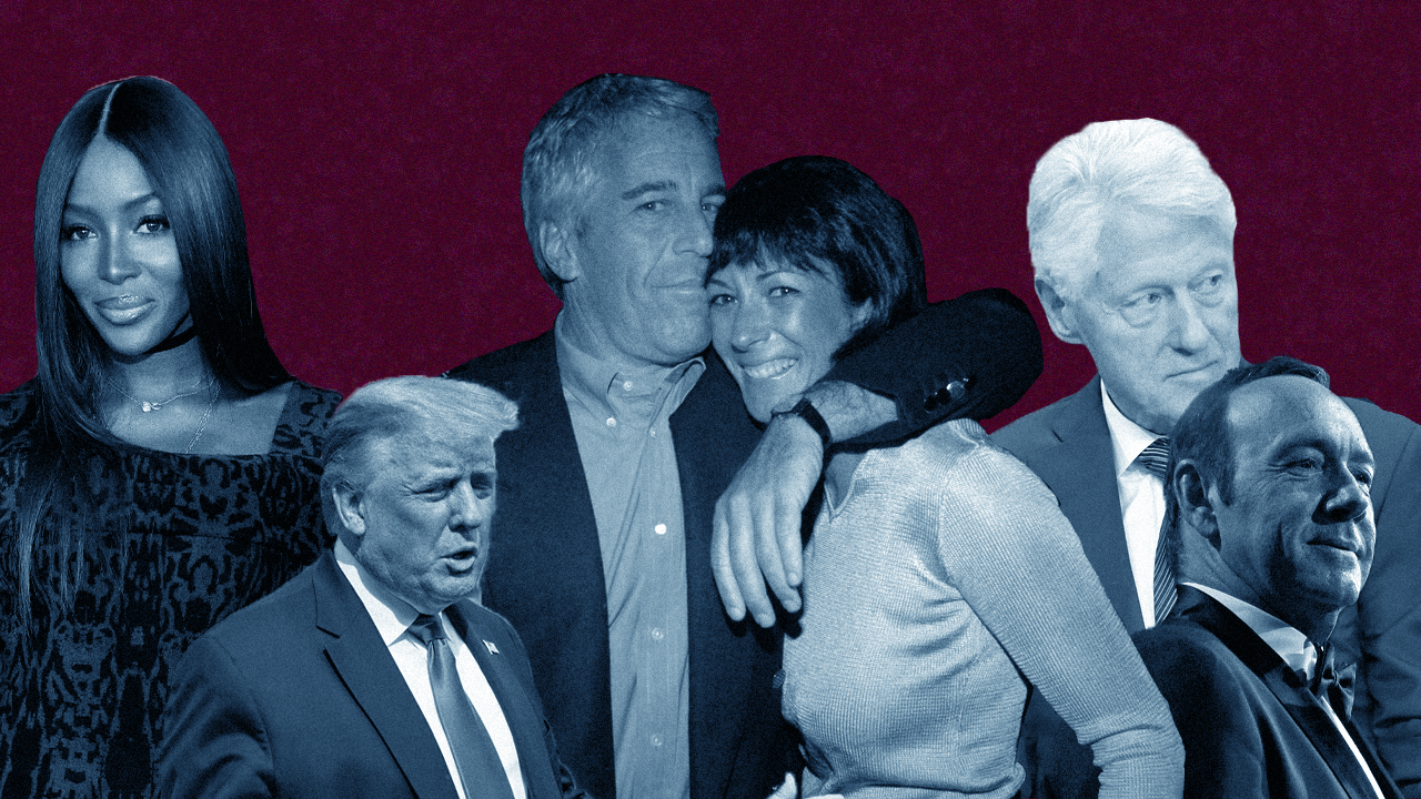All the Celebrities in Jeffrey Epstein and Ghislaine Maxwell's Inner Circle