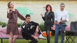 "schitts creek emmys explainer: A still from ""Schitt's Creek"""