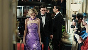 the crown season 4 real life events: Emma Corrin and Josh O'Connor star as Diana and Prince Charles
