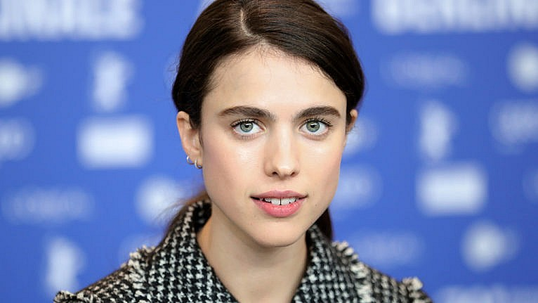 celebrity couples 2020: Margaret Qualley poses