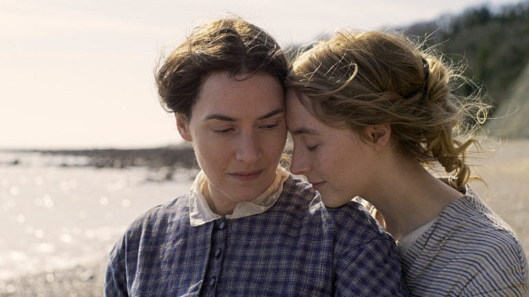 saoirse ronan kate winslet ammonite interview